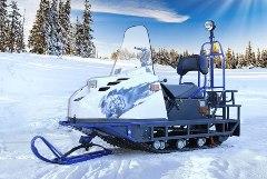 короткий-снегоход-буран-А-синий